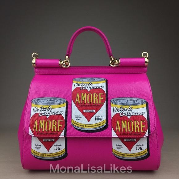 DOLCE   GABBANA Amore Can Miss Sicily Bag Handbag d3a0970f62957